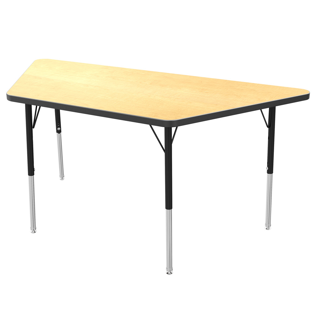 Mg2200 series trapezoid activity table marco group inc for Trapezoid table