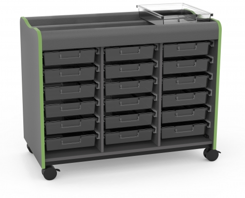 Makerspace Mobile Storage Cart Marco Group Inc